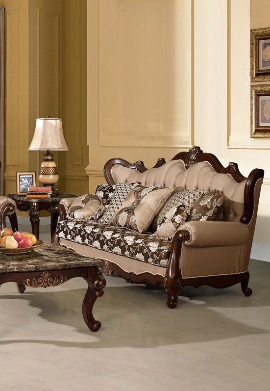 Traditional Style Sofa Love Seat 2pc Set Hot Sectionals