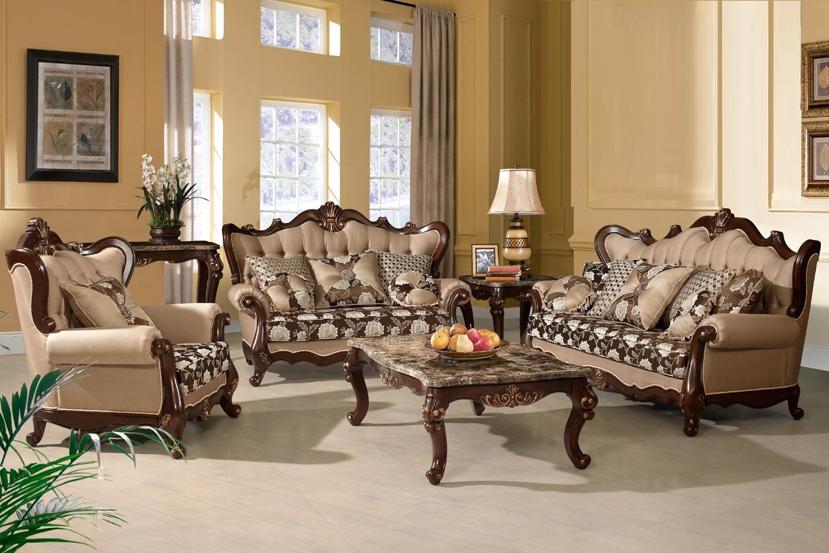 Traditional sofa love seat chair 3pc set hot sectionals - Living room furniture traditional ...