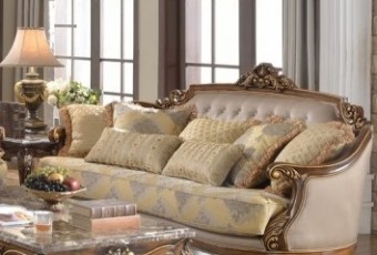Formal Traditional Sofa Loveseat Chair Tufted Couch Pillows 3pc Set T3r90nsa