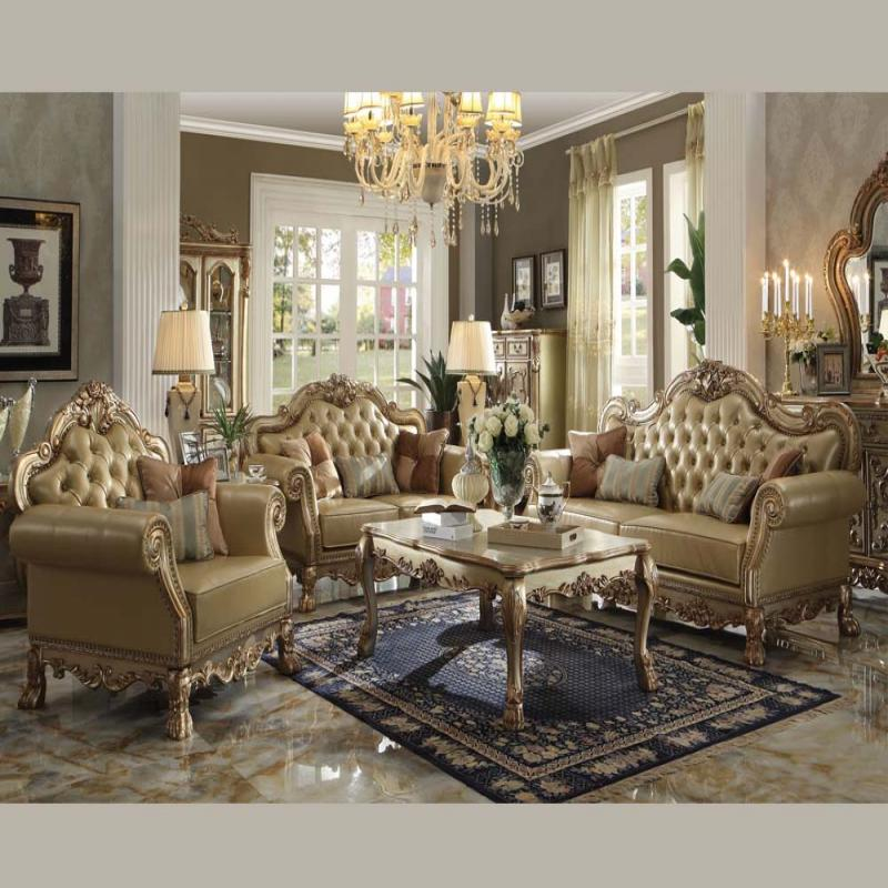 Acme Dresden Collection Sofa Set Formal Hot Sectionals