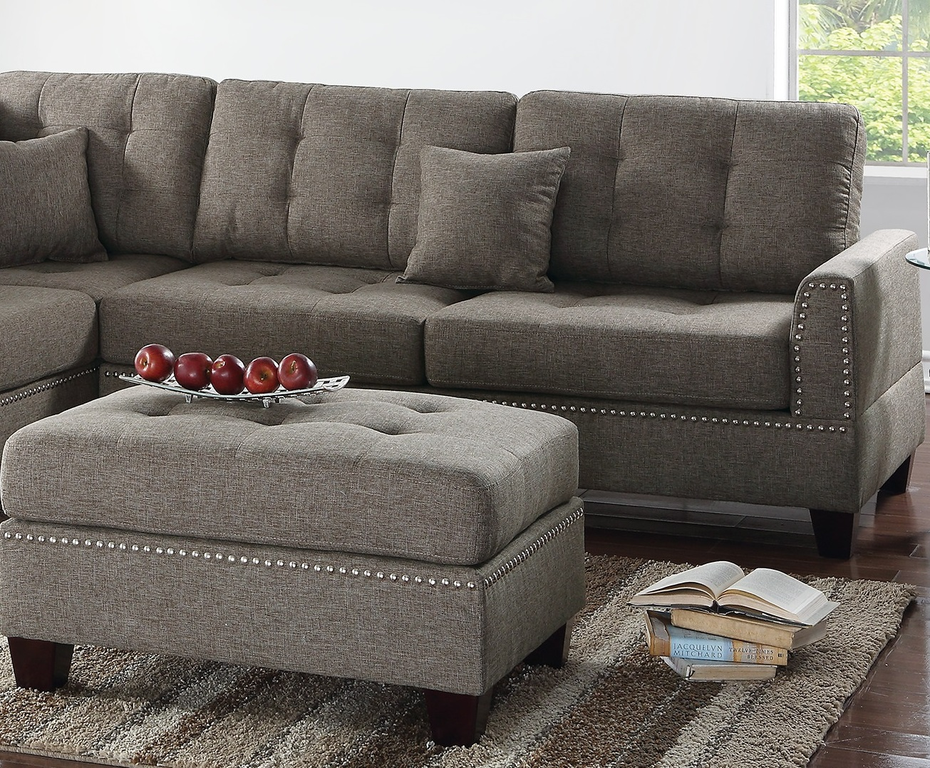 3pcs Sectional Sofa Set L R Chaise Coffee Hot Sectionals