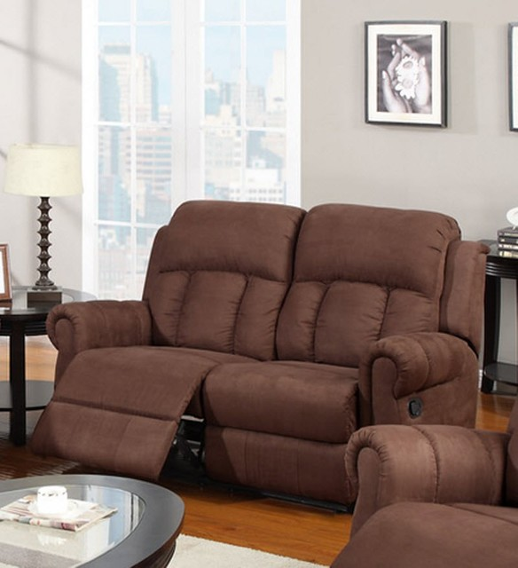 Poundex Recliner 3pc Sofa Set Couch Modern Hot Sectionals