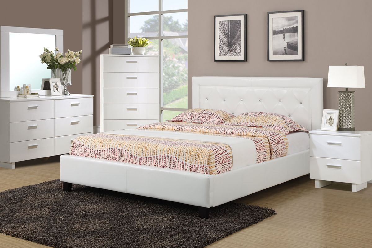 Poundex Furniture Queen Bedroom Set #F9247Q | Hot Sectionals