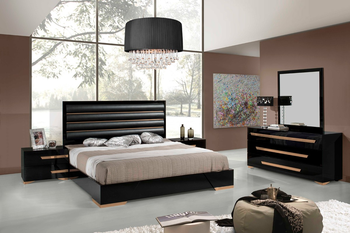 furniture modern penelope bedrooms catalog black bedroom
