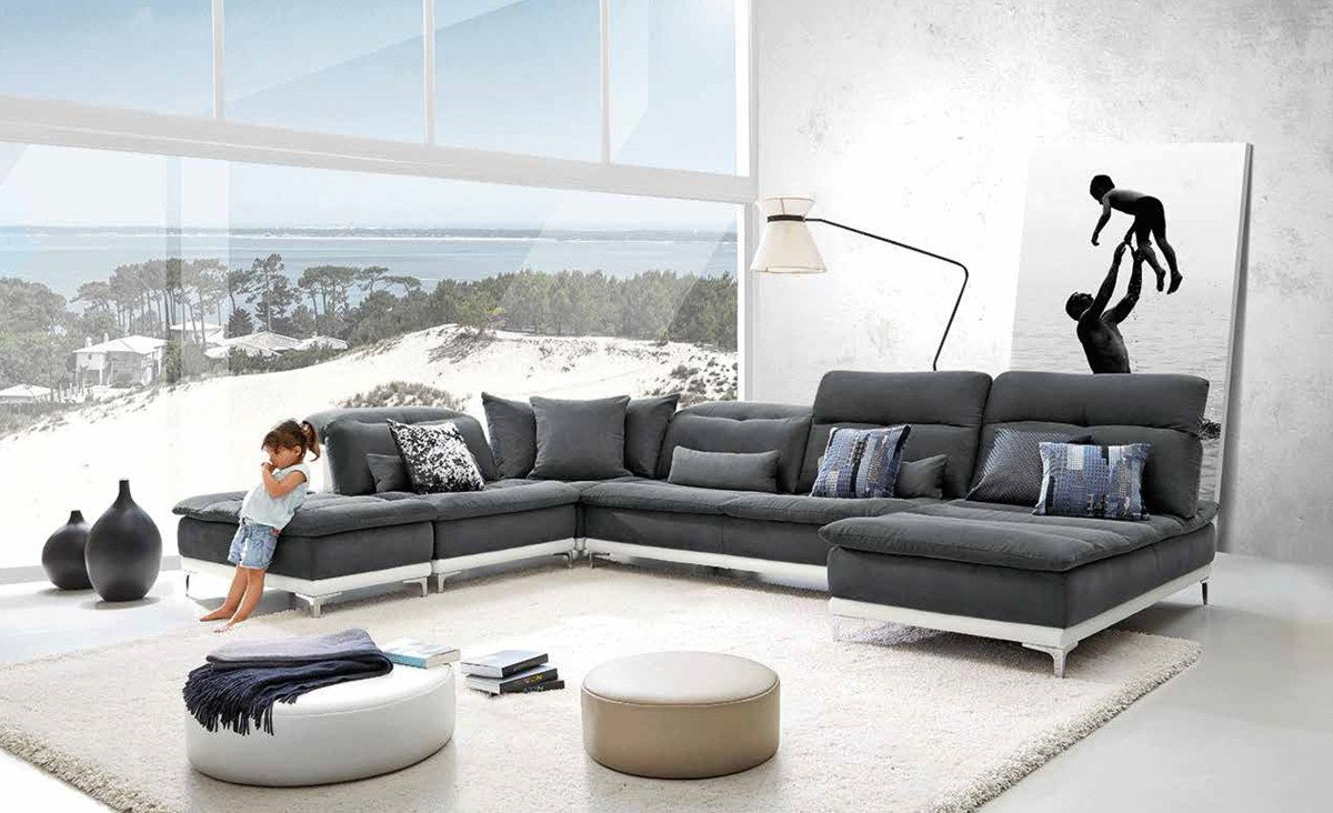 modern sectional couch vig furniture vgfthorizon hot sectionals. Black Bedroom Furniture Sets. Home Design Ideas