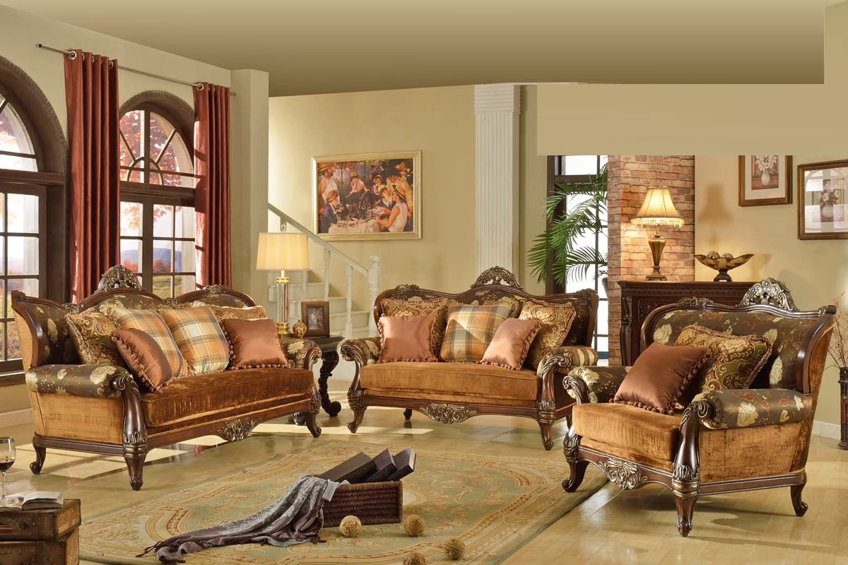 Traditional Sofa Set Living Room Formal Couch Hot Sectionals