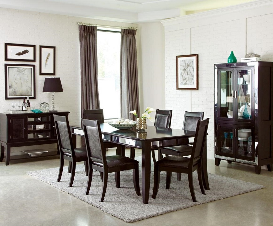 middleton formal dining room group coaster table chair