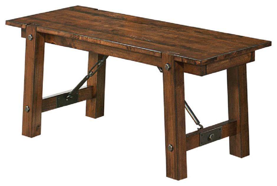 coaster furniture lawson cable tie rustic pecan finish