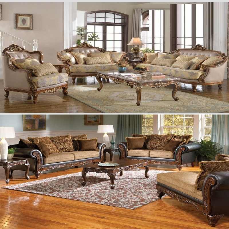 Play Formal Living Room Escape Game: Formal Traditional Antique 11 Piece Living Room Set
