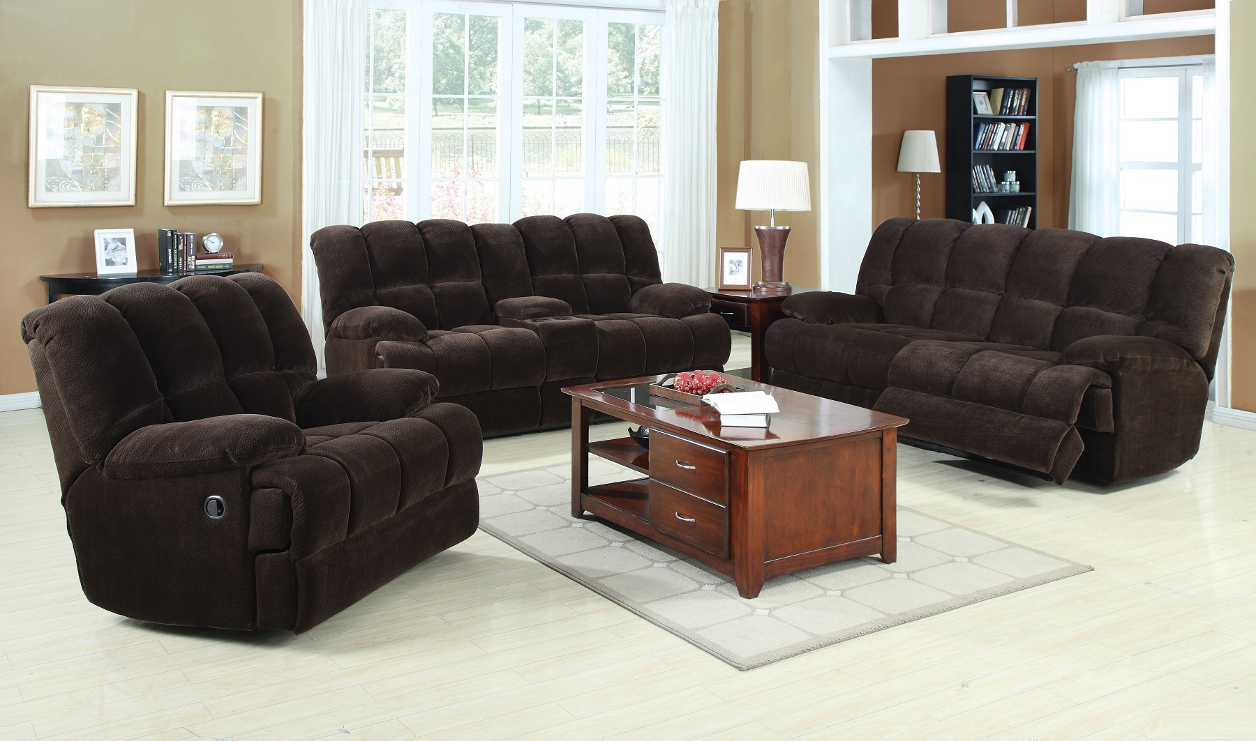 Oversized Reclining Sofa