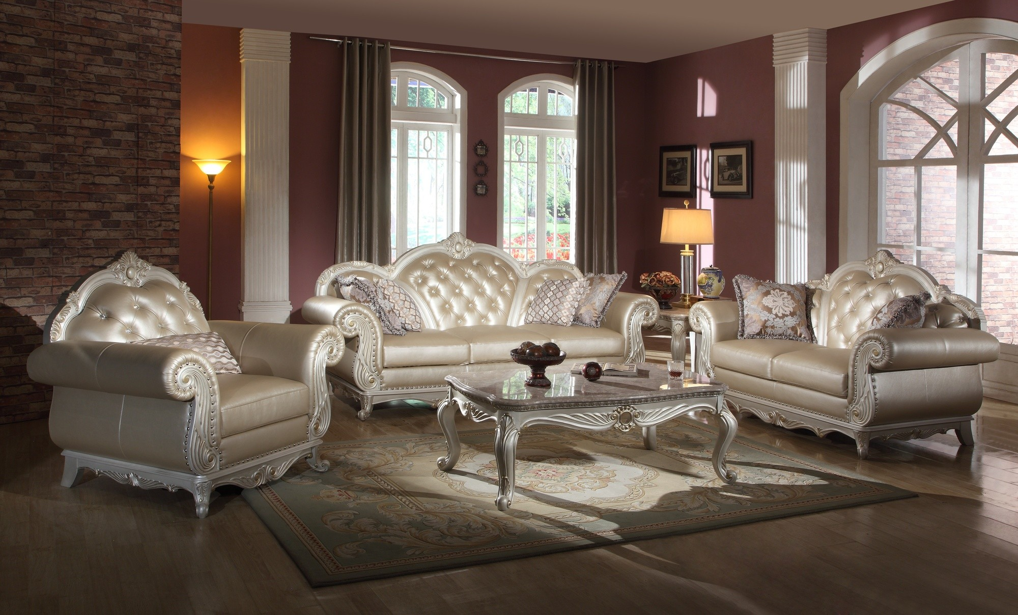 room pearl from amax leather monaco white set living livings htm furniture