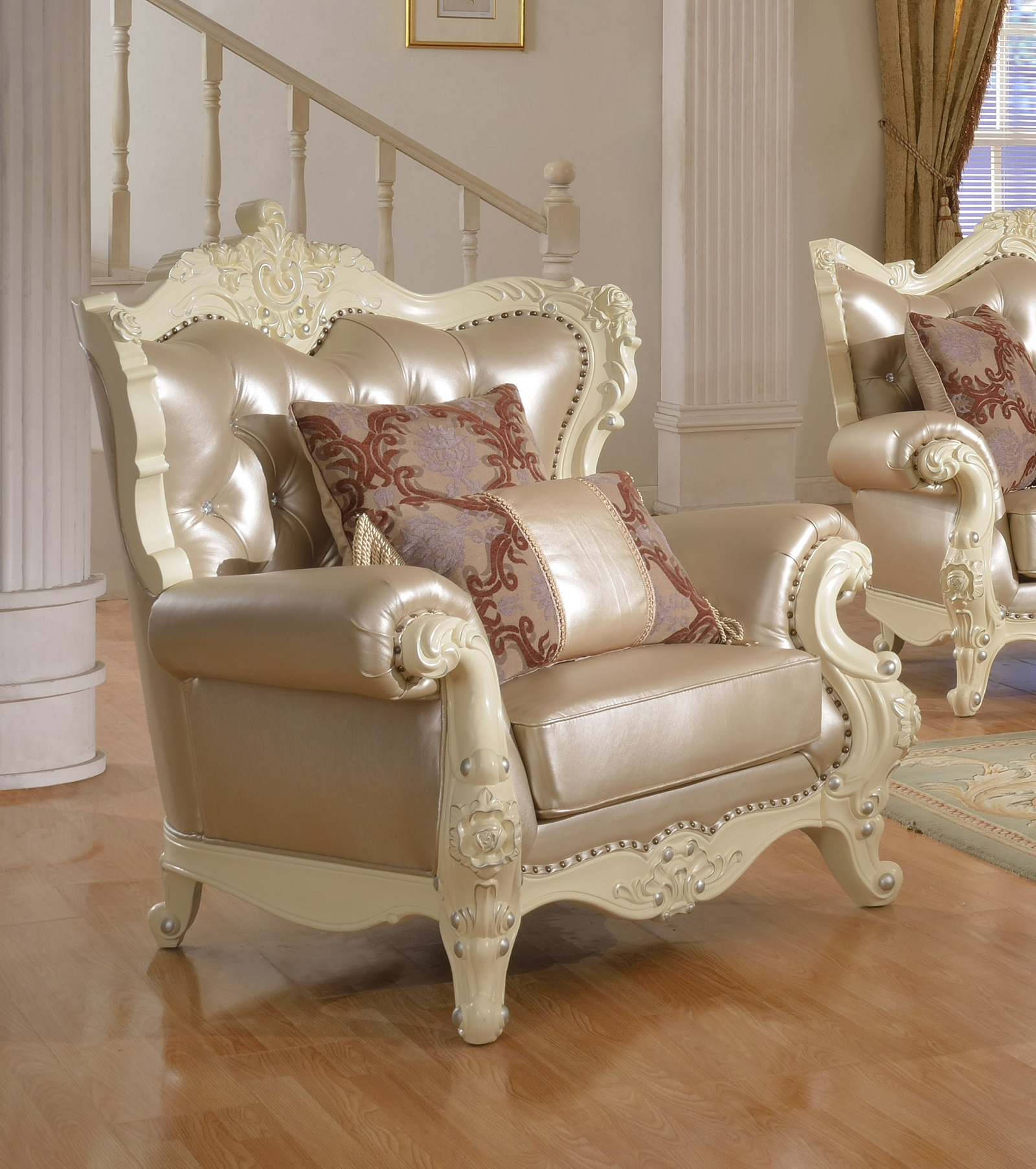 3pc Traditional Sofa Set Living Room Furniture