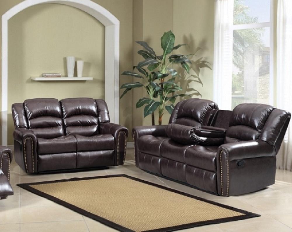 Brown Sofa Love Seat Living Room