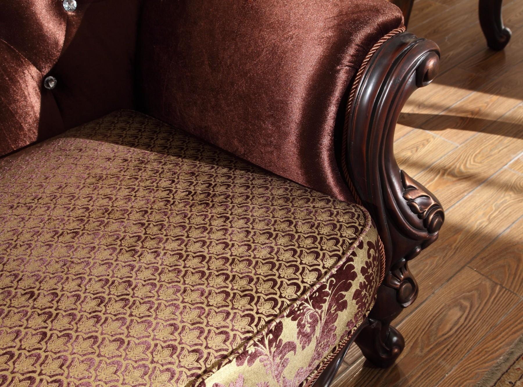 Cherry Sofa & Love Seat Living Room Furniture