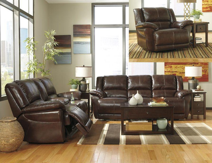 3pc Motion Sofa Set Ashley Living Room, Ashley Living Room Furniture