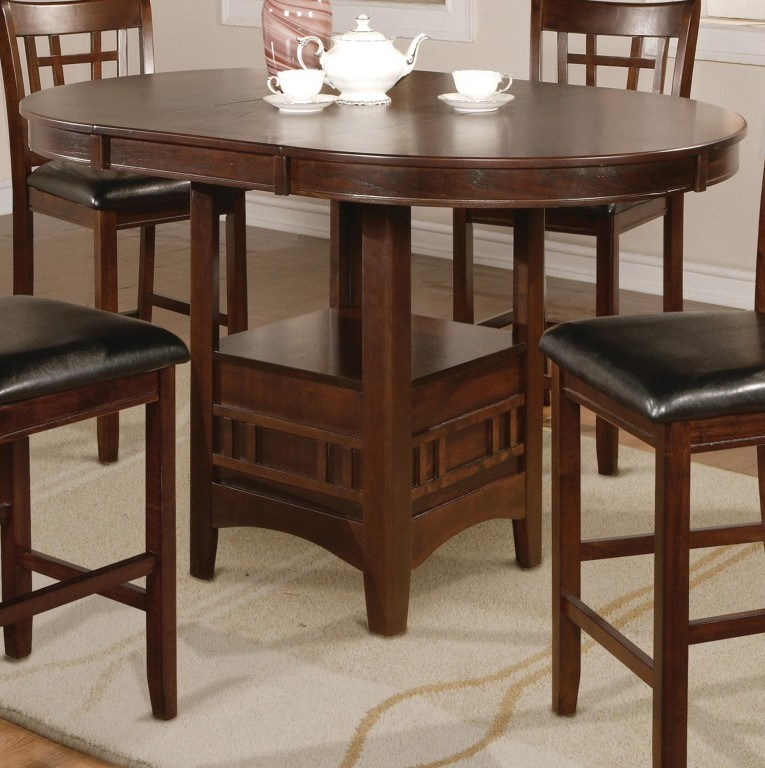 Furniture Counter Height Pub Table For Enjoy Your Meals: 5pc Couter Height Table 4 Chairs Faux Leather