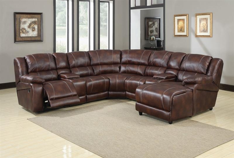 Acme Recliner Sofa Set Sofa Loveseat & Chair Brown Microfiber 3Pcs Living  Room