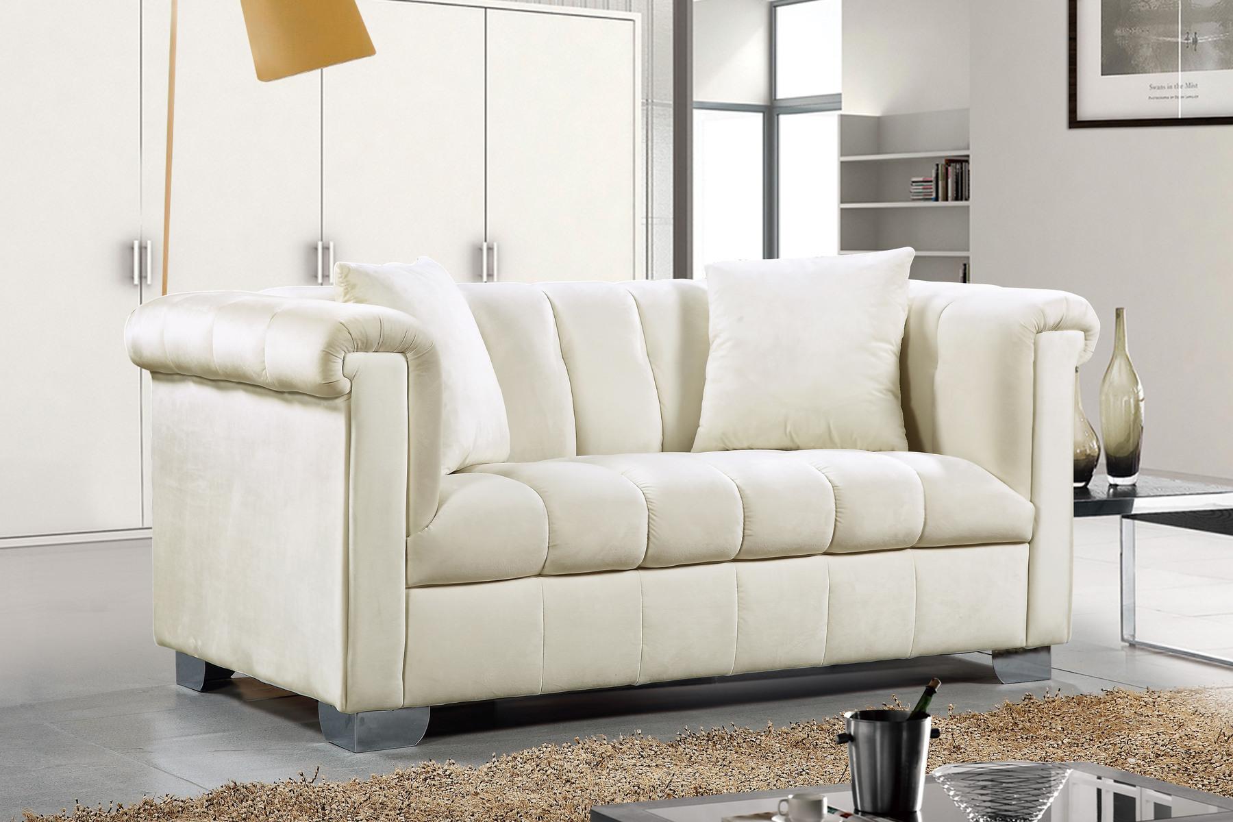 3pc Cream Sofa Set Living Room Furniture New | Hot Sectionals