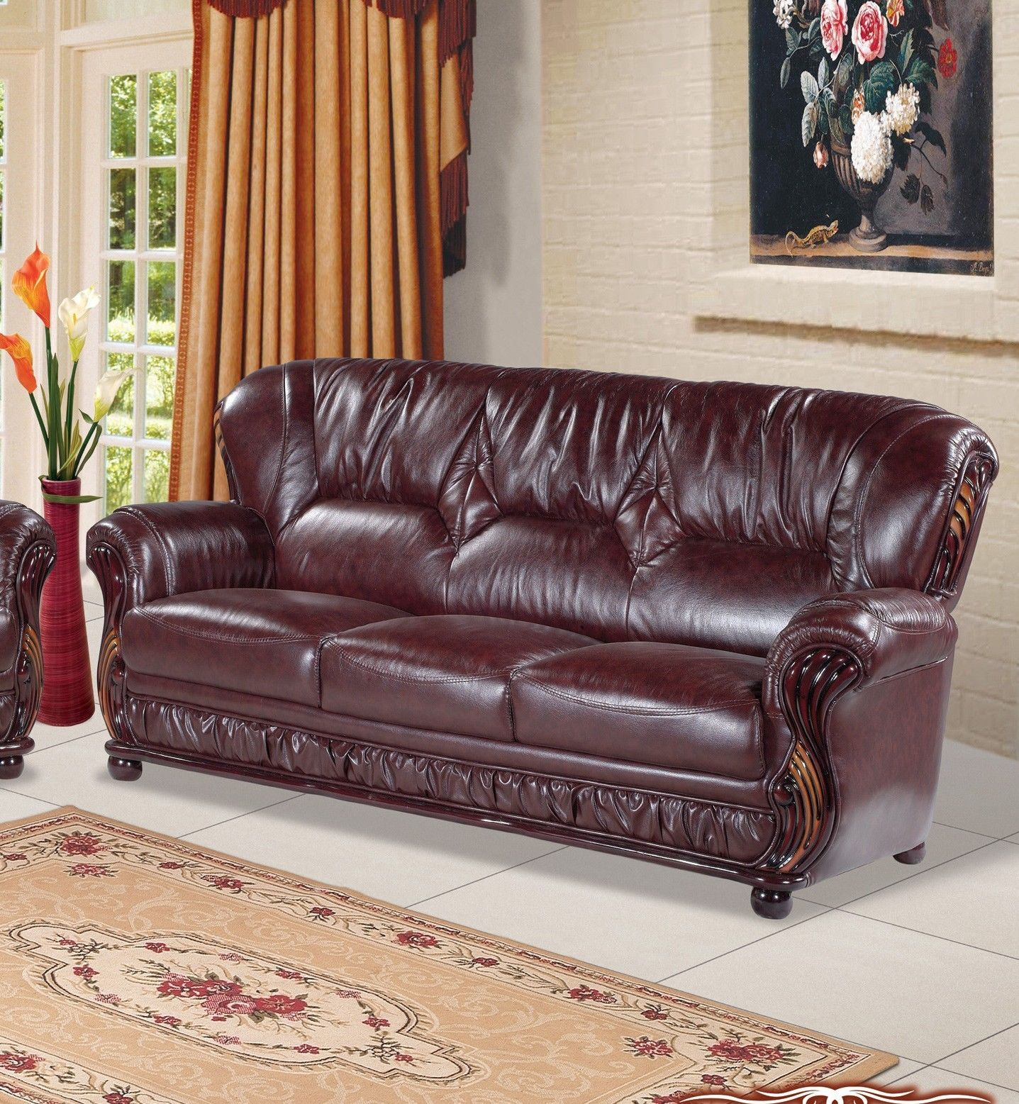 3pc Sofa Set Traditional Living Room 639