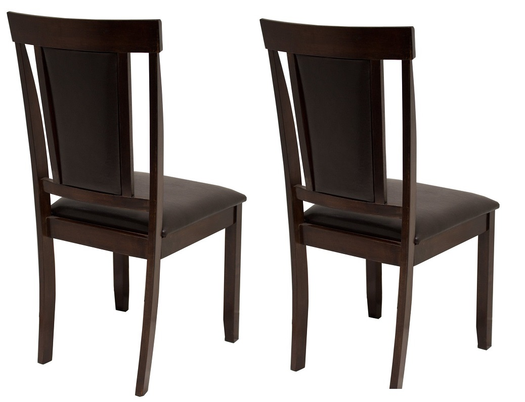 Garden Table And Chairs Bm: Elegant Dining Set Of 2 Dining Chair Espresso