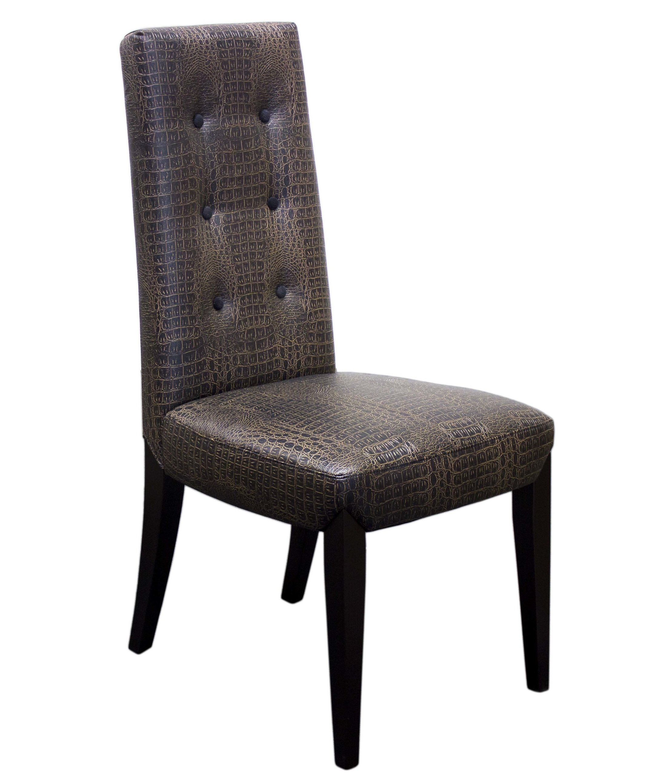 elegant dining brown faux leather 2pc chair hot sectionals. Black Bedroom Furniture Sets. Home Design Ideas