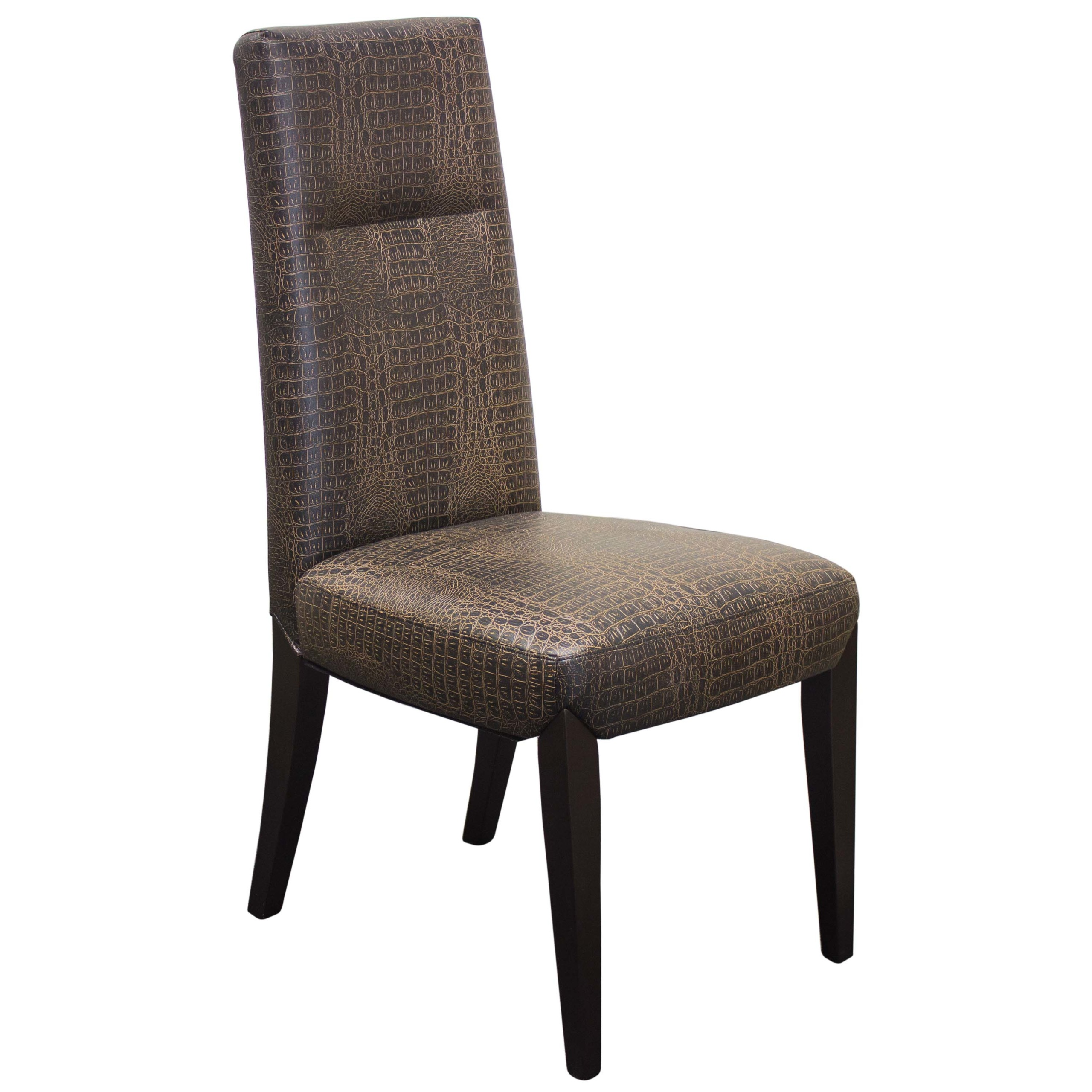 Elegant Dining Brown Faux Leather 2pc Chair Hot Sectionals