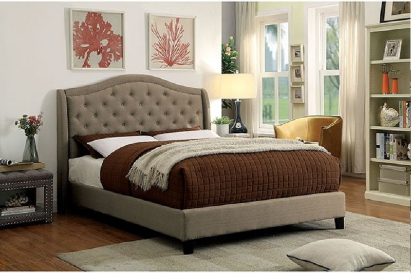 Dimensions Of A Queen Size Bed.Brown Cherry Queen Size Bedroom 1pc Set Hot Sectionals